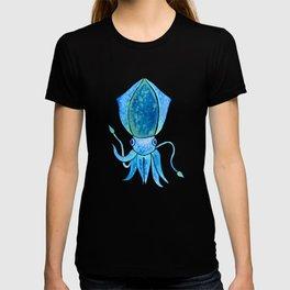 Cute Blue Squid T-shirt