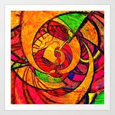 Tropical Farm 3 Art Print