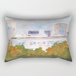 My Mamma's view  Rectangular Pillow