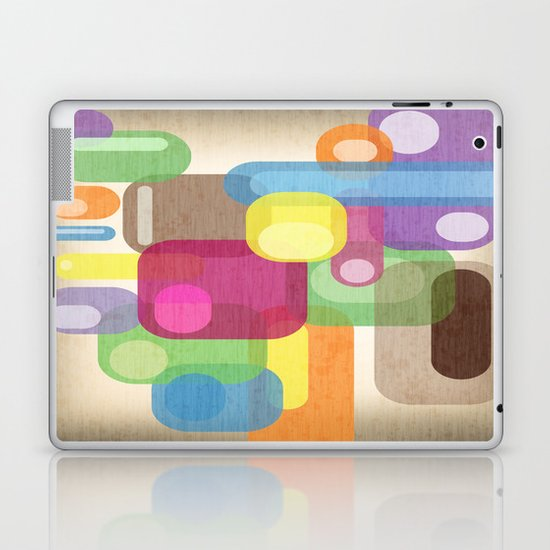 Retro Make'a Me Smile.  Laptop & iPad Skin