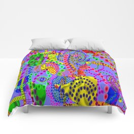 Coral Sea Life, from Mickeys Art And Design.Biz Comforters