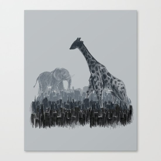 The Tall Grass Canvas Print