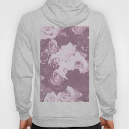 Rose bouquet - beautiful roses from rose garden - vintage style Hoody