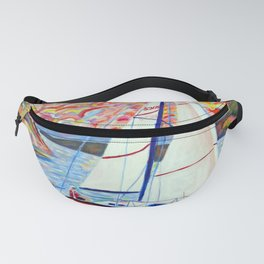 Sailing Okanagan Fanny Pack