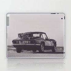 Supercar details, british triumph spitfire, black & white, high quality fine art print, classic car Laptop & iPad Skin