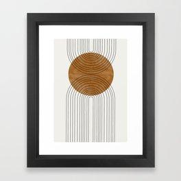 Abstract Flow Framed Art Print