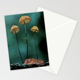 Resting Tigers (Fall edition) Stationery Cards