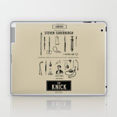 The Knick - Rétro Poster (Tv Series by S. Soderbergh) Laptop & iPad Skin