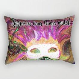Let the Good Times Roll ( Laissez les bons temps rouler) Rectangular Pillow