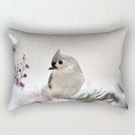 Snow Bird Rectangular Pillow