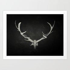 Dead King Art Print