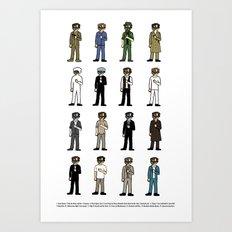 Woody Allen's Art Print