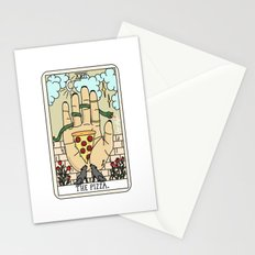 PIZZA READING Stationery Cards