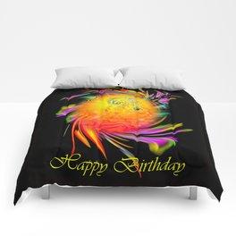 Zodiac sign Leo  Happy Birthday Comforters