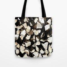 Casual Wood Tote Bag