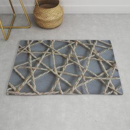 Ropes Abstract Pattern Rug
