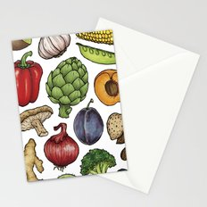 Food Stationery Cards