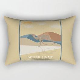 Speed Hump - Fastest Camel in Africa Rectangular Pillow
