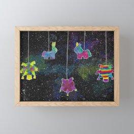 Galactic Posada Piñatas Framed Mini Art Print
