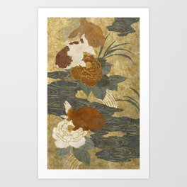 Ranchu Art Print
