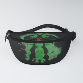 All Might Silhouette v1 Fanny Pack