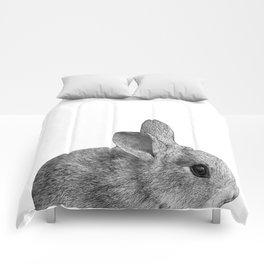 baby bunny rabbit Comforters
