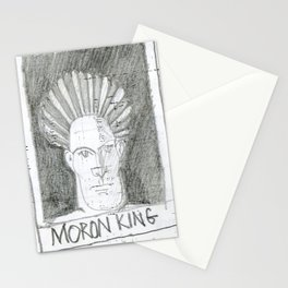 moron king Stationery Cards