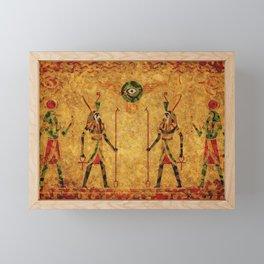 Egyptian Gods Framed Mini Art Print