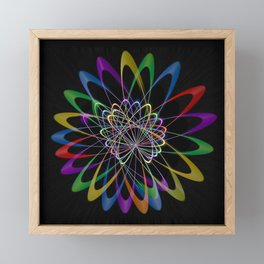 Abstract perfection 201 Framed Mini Art Print