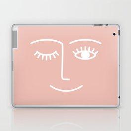 Wink / Pink Laptop & iPad Skin