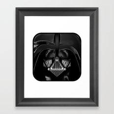 vader, darth vader Framed Art Print