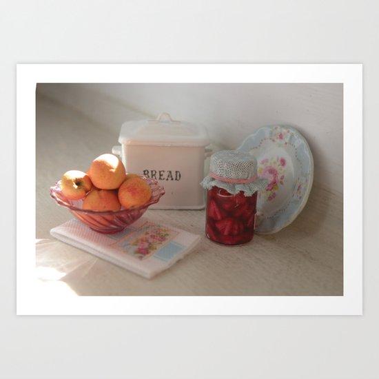 Miniature Canning Love Art Print
