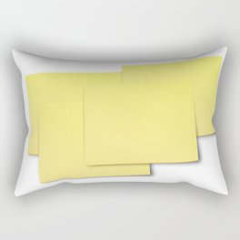 The Devil is in the detail: Post-it 2 Rectangular Pillow