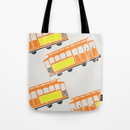 San Francisco Streetcars Tote Bag