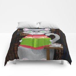 Kitty Corner Coffee And Reading Room Comforters