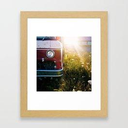 Farm Truck Framed Art Print
