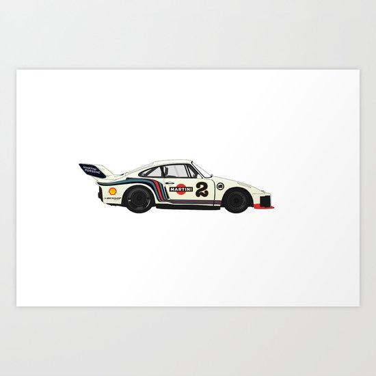 Martini Racing Art Print