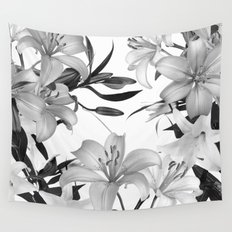 Glorious Lilies 2 Wall Tapestry