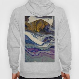 Follow the River - Abstract Landscape by Fluid Nature Hoody