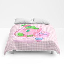 Sweet Summer Drink Comforters