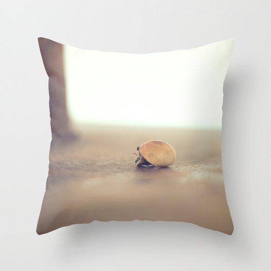 Beach Buddy Throw Pillow