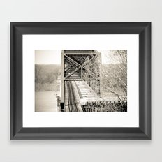 Welcome to Vicksburg 1 Framed Art Print