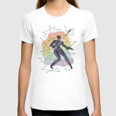 Rainbow Warrior X-LARGE White Womens Fitted Tee