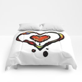 Colors of Love Comforters