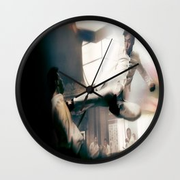 Ip Man Flying Kick Wall Clock