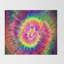 Tie-Dye Throw Blanket