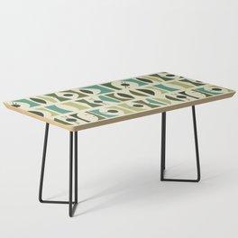 Tromen - Green Coffee Table