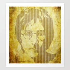 There is a MAGI in Imagine Art Print