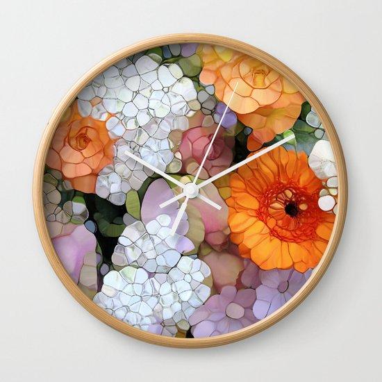 Joy is not in Things, it is in Us! Wall Clock