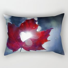 My heart lives in Nature! Rectangular Pillow